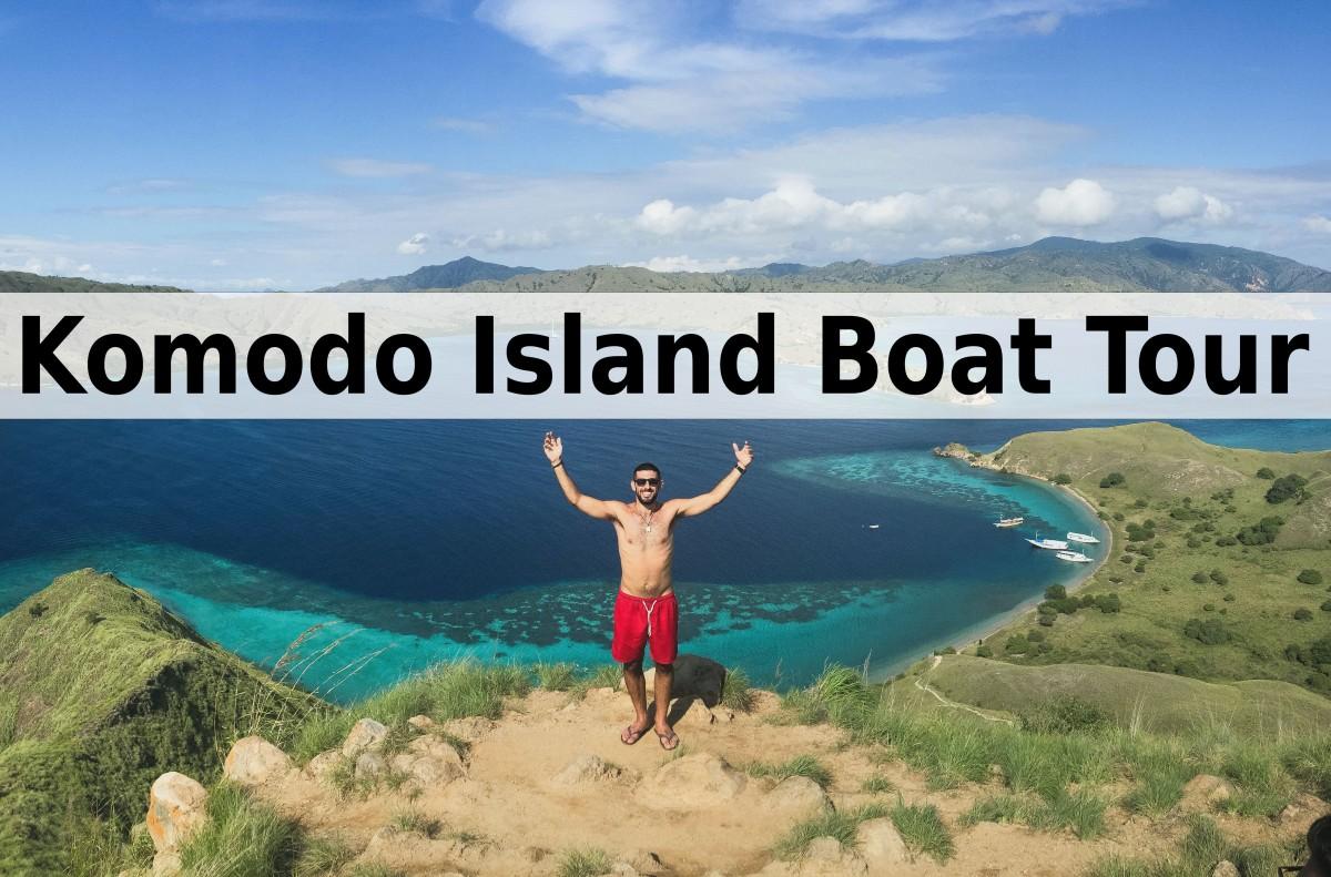 Indonesia's Komodo Island Boat Tour!